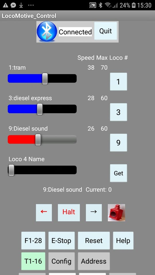 Model Rail Digital DCC Command Station Arduino and Free App