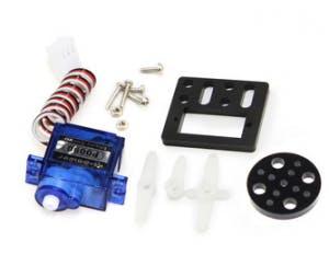 9g micro servo plus mounting kit