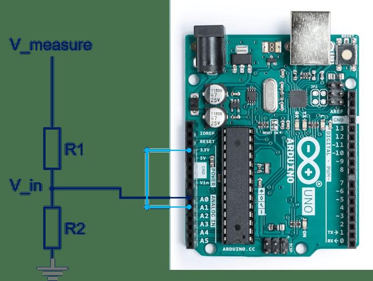 DIY Voltmeter Using Arduino and Smartphone - Hackster io