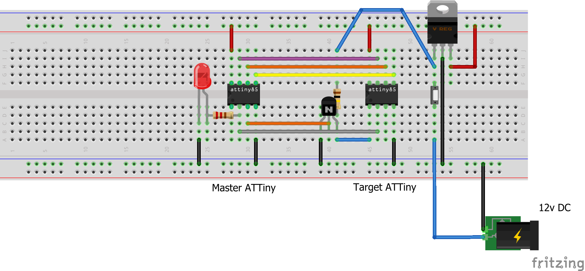 ATtiny85 Powered High Voltage AVR Programmer - Hackster io
