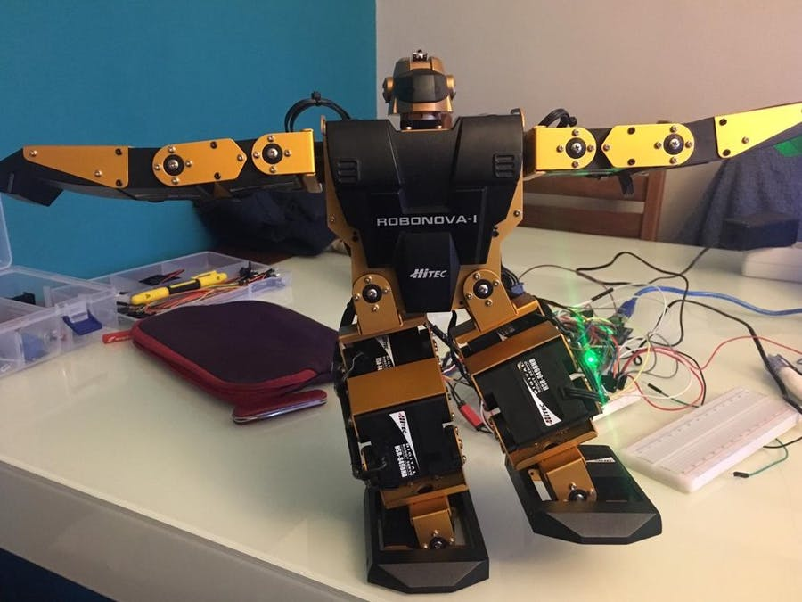 ROBONOVA-1 with Arduino Mega