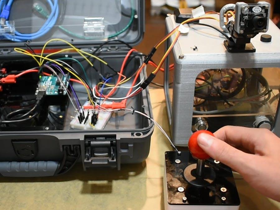 4-Way Joystick Control