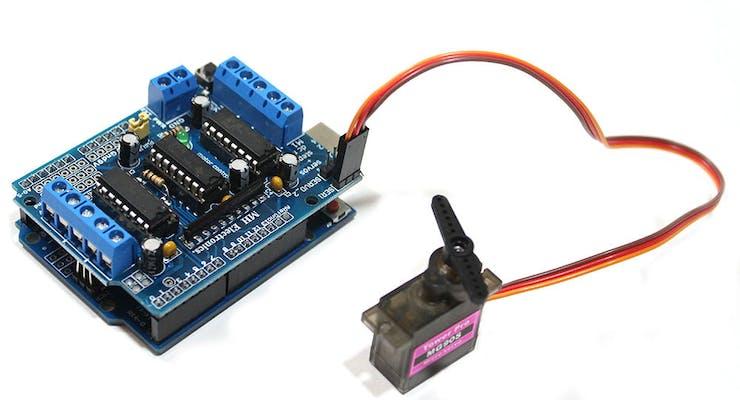Arduino L293D Motor Driver Shield Tutorial - Hackster io
