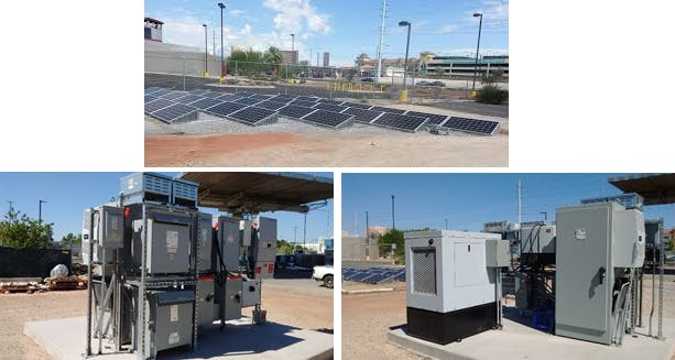 On-campus 12kW Photovoltaic System