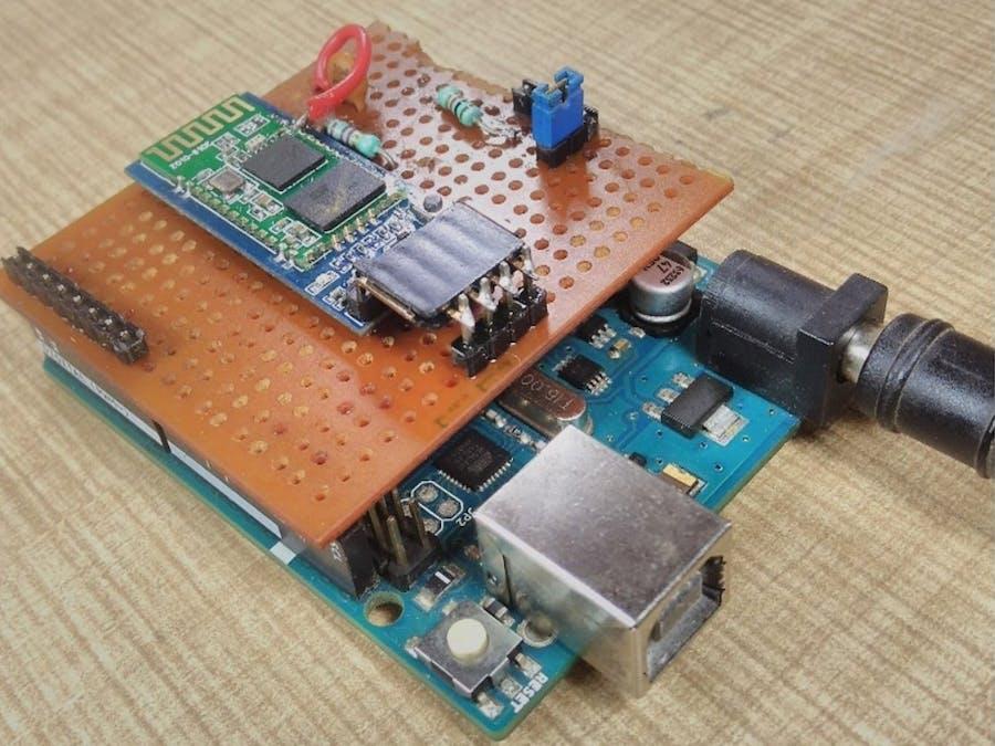 BLUE_P: Wireless Arduino Programming Shield
