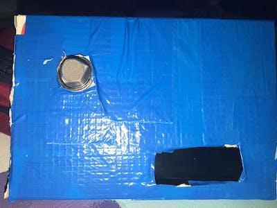 Lcd buzzer ve led ile gaz sensörü