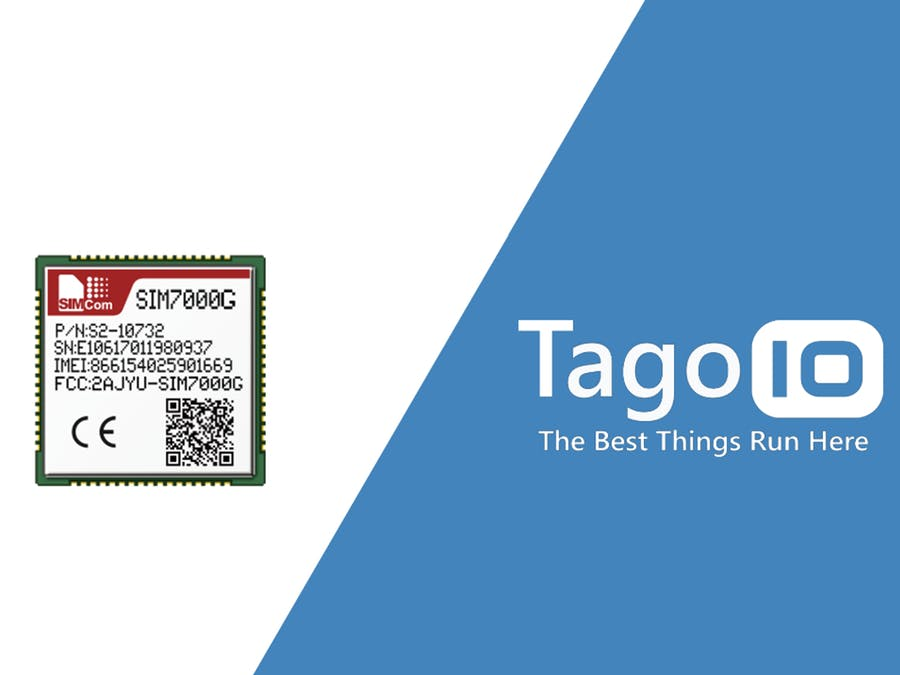 Connecting SIM7000G + TagoIO - Hackster io