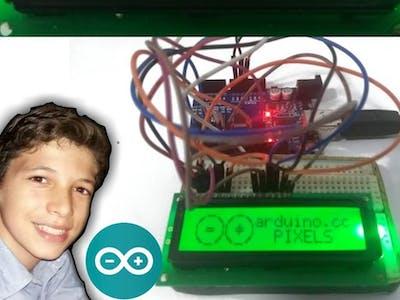 Display com a LOGO Arduino