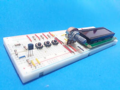 Programmable Alarm of High-Temperature