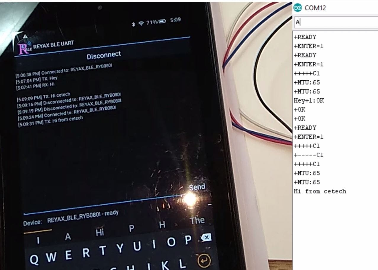 RYB080l Bluetooth Tutorial for Wearable Device - Hackster io
