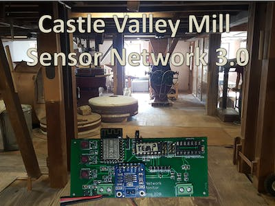 Sensor Network for an 18th Century Flour Mill Version 3.0