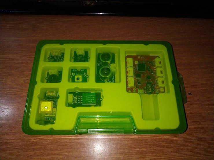 Seeed Studio + SORACOM Starter Kit