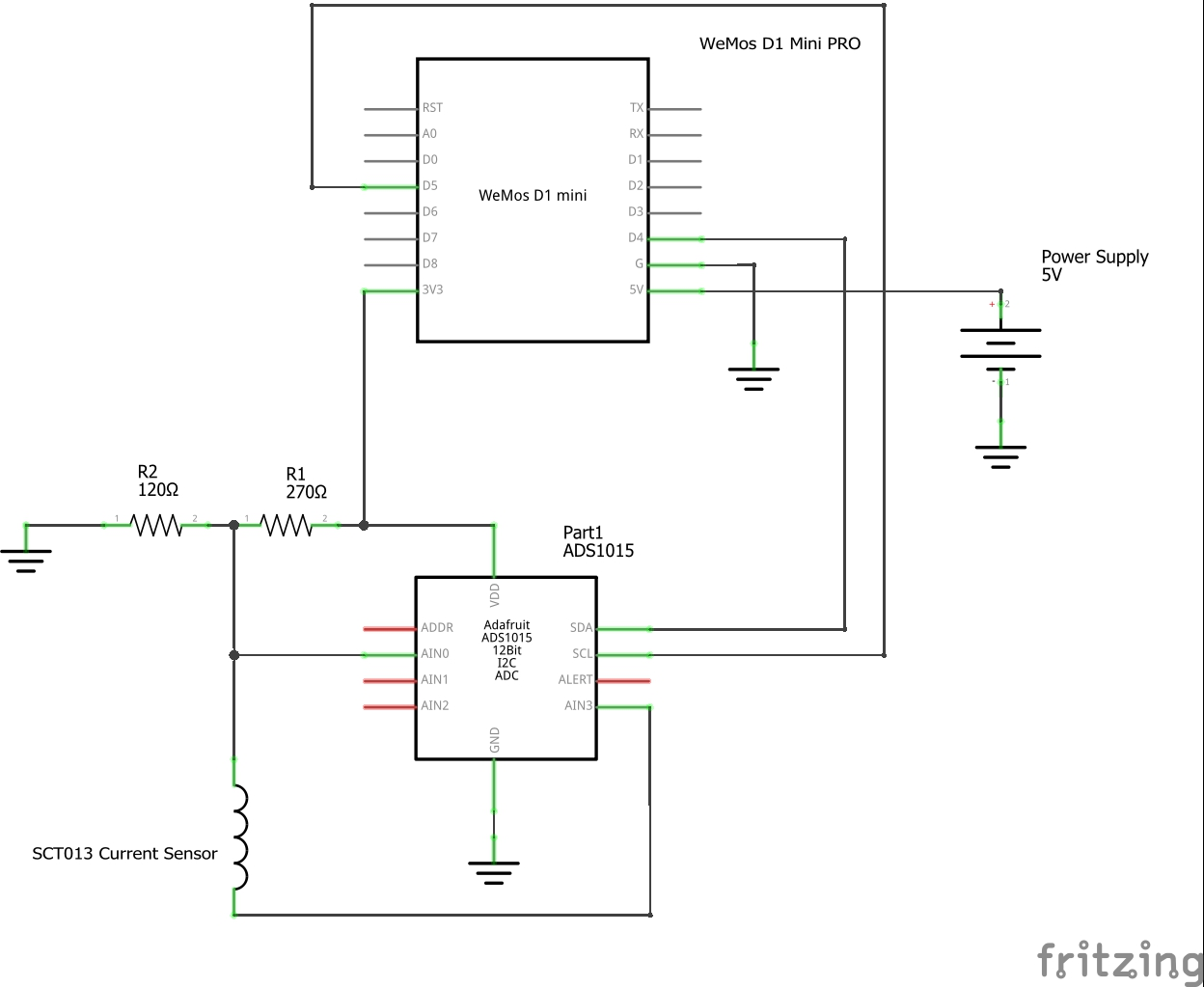 AC Current Monitor - Blynk Projects