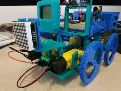 CodeRcar: The Kid-Friendly 3D-Printable DIY Robot Vehicle