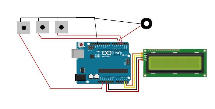 Arduino Game JUMP or DIE I2C - Hackster io