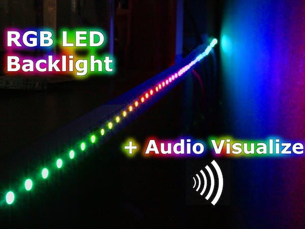 RGB Backlight + MSGEQ7 Audio Visualizer - Arduino Project Hub