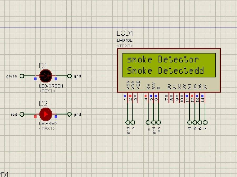 Smoke/Gas Leakage Indicator or Alarm