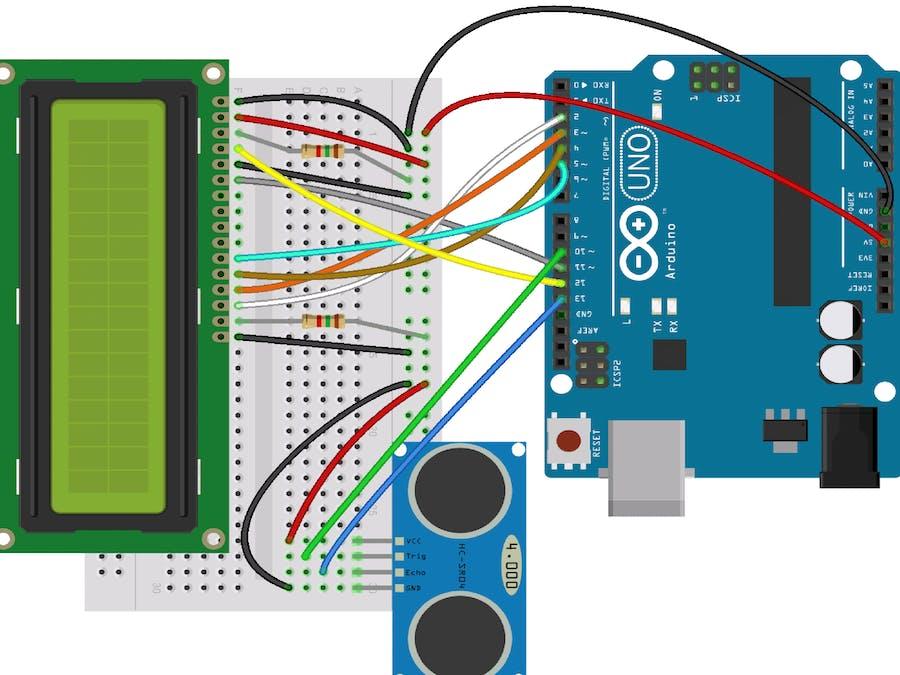 Distance Measurement Using Ultrasonic Sensor