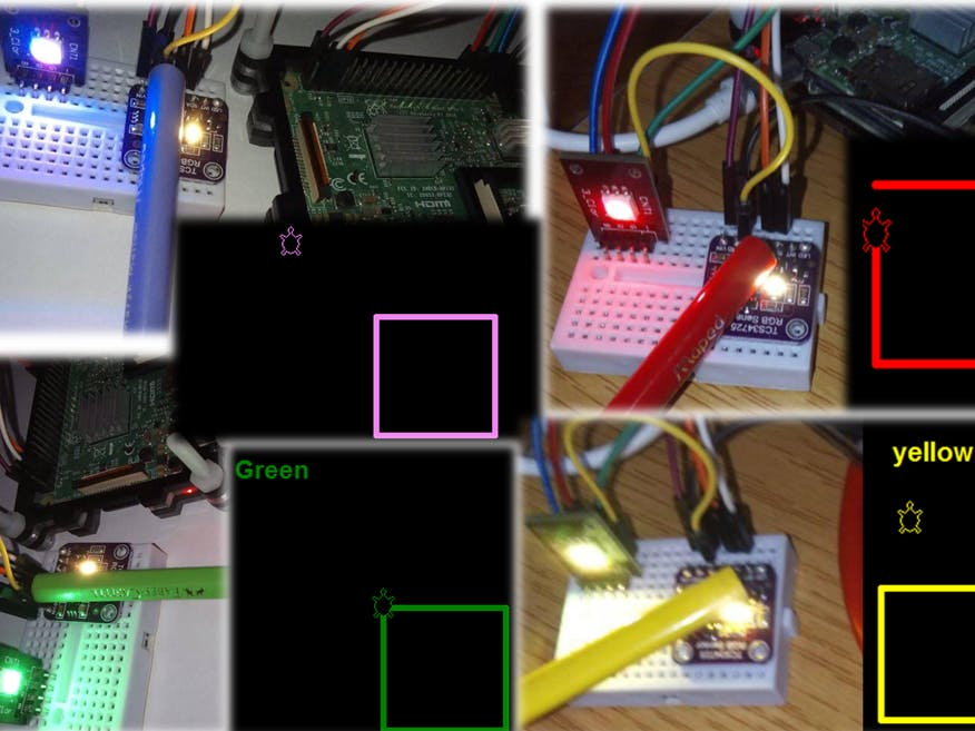 Color Detection Using Raspberry Pi & Python Animation Tools