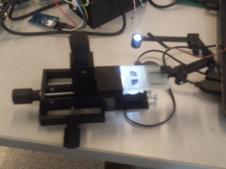 BrewerMicro – DIY microscope for counting yeast