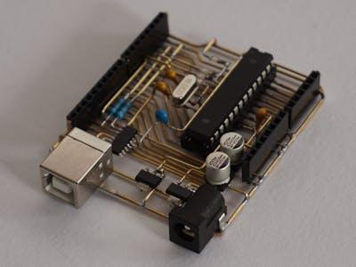 A Skeleton Arduino Uno