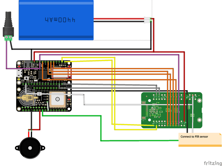 Finalized schematic.