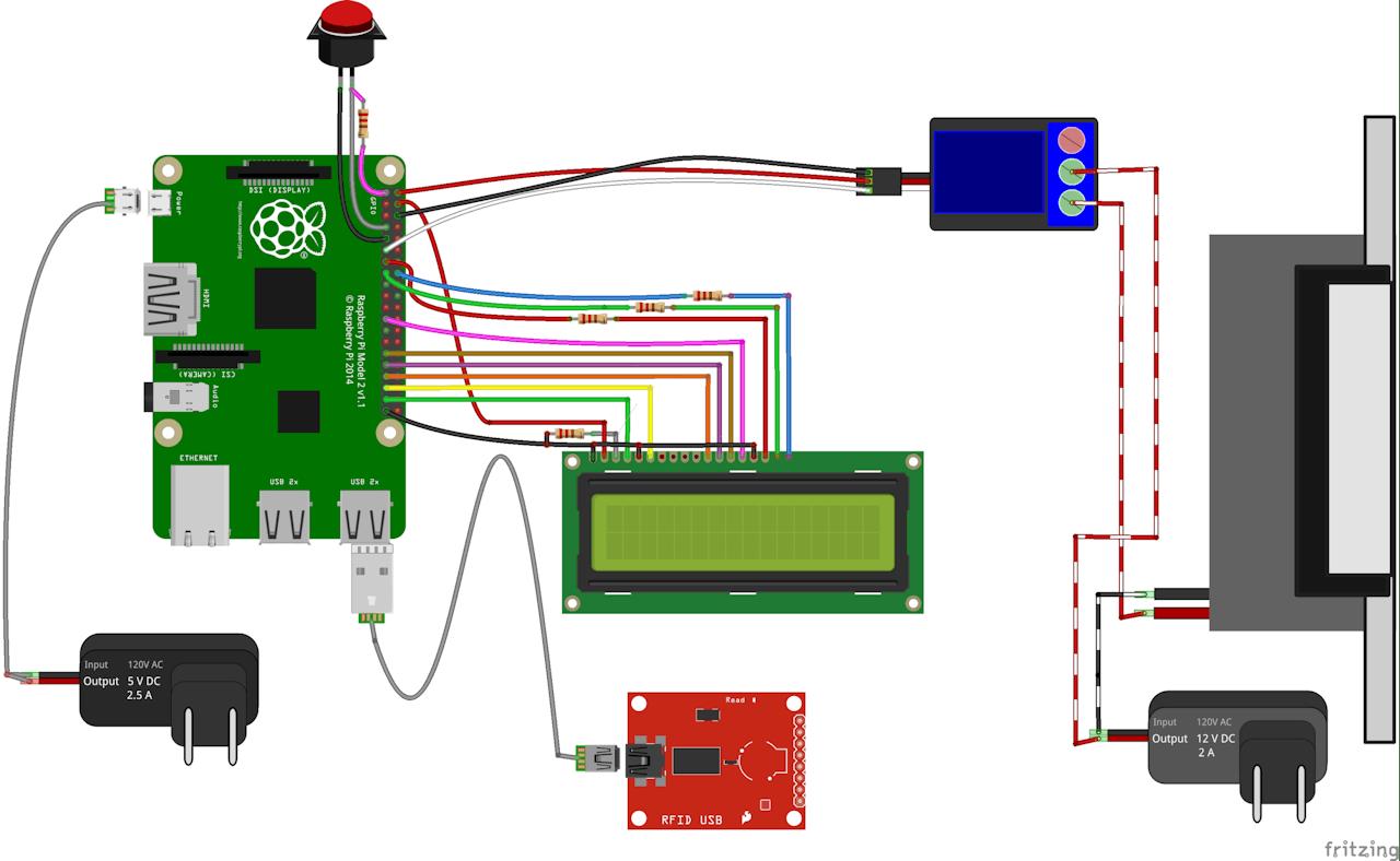 Raspberry Pi RFID Access Control System - Hackster io