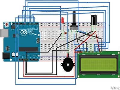 Car Lock and Unlock Using IR Remote, Arduino and LCD