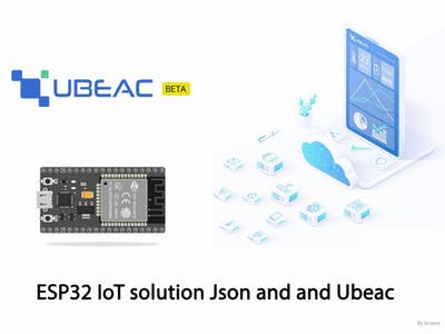 IoT Solution with ESP32 Json and a Perfect Simple Platform