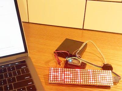 Slack IoT Marquee