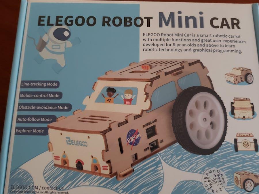 What Do I Build Next? An Arduino Nano Minicar