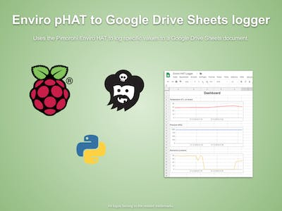 Pimoroni Enviro pHAT to Google Sheets Logger