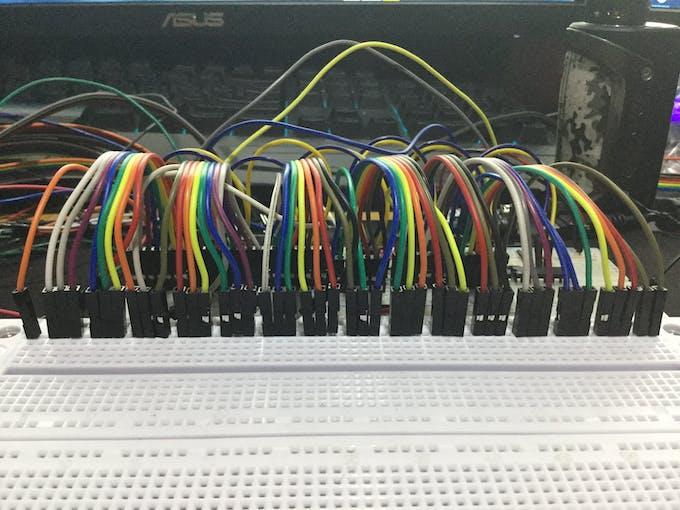 1st SR Set Wiring Phase