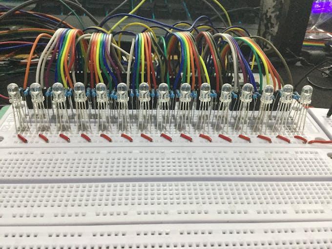 1st Set of LEDs