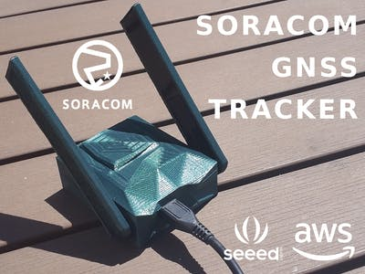 Soracom Powered GNSS Tracker