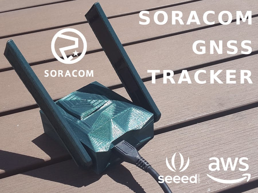 Soracom Powered GNSS Tracker