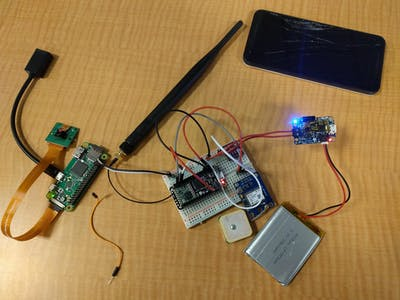 GSM Weather balloon payload