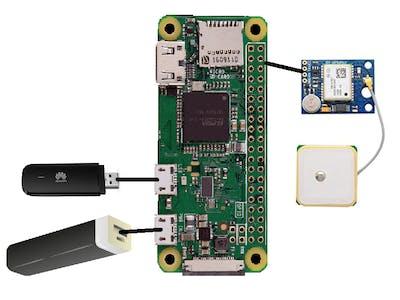 Cellular SOS Button Tracker