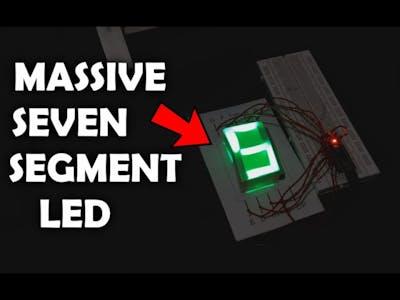 Massive Seven-Segment Display