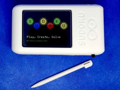Portable Electronic Sudoku Game