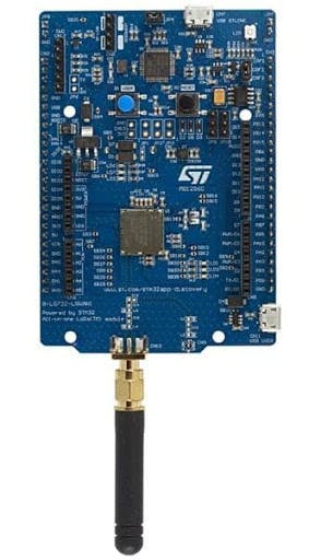 STM B-L072Z-LRWAN1 with LoRa connectivity