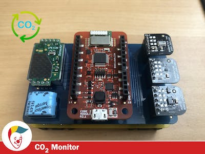 Radio CO2 Monitor
