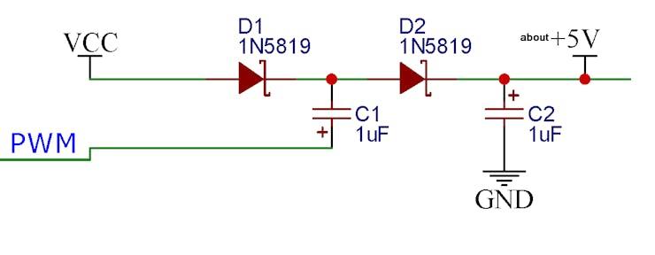 Di*kson Voltage Doubler