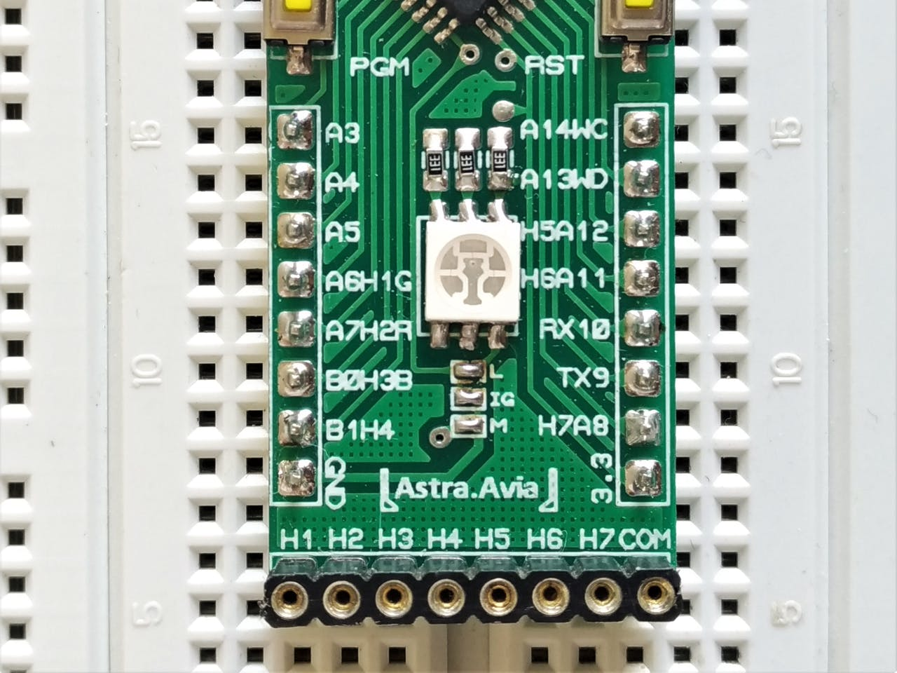 Astra Avia, an STM32F0 Development Board You Can't Refuse