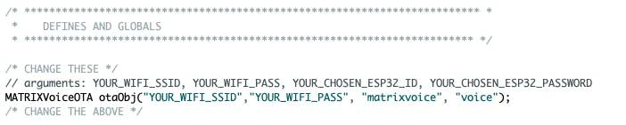 Program Over the Air on ESP32 MATRIX Voice - Hackster io