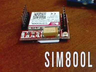 SIM800L GPRS Module with Arduino AT Commands - Arduino Project Hub