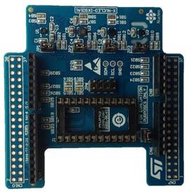 Environmental sensor evaluation expanding board