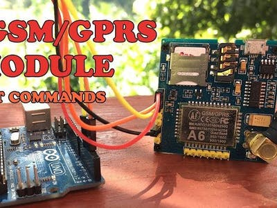 A6 GSM GPRS Module AT Commands