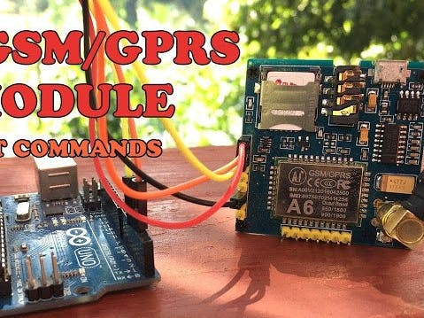 A6 GSM GPRS Module AT Commands - Arduino Project Hub