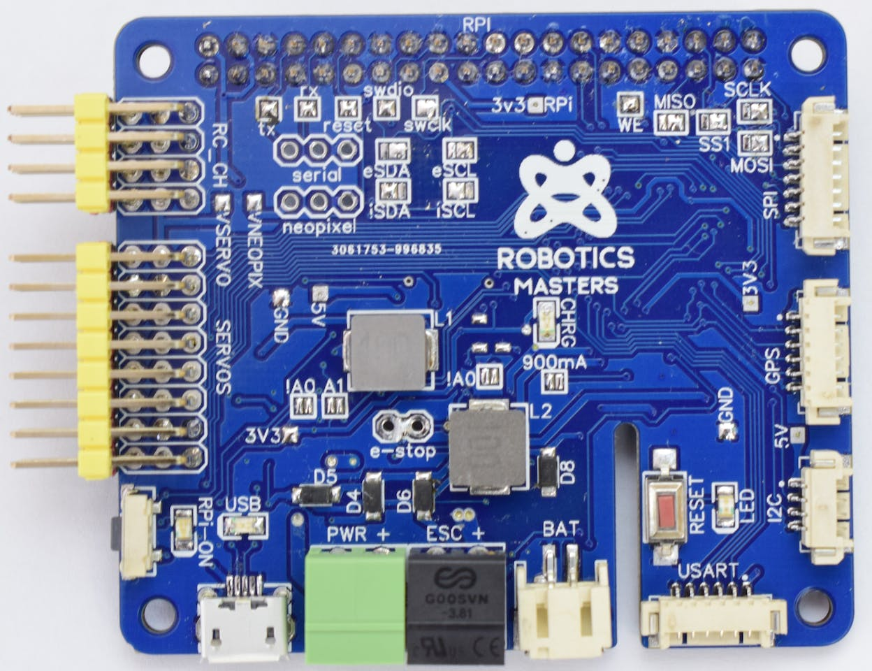 Robo HAT MM1: Drones, CircuitPython and Self-Driving Cars - Hackster io